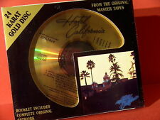 """DCC GZS-1024 EAGLES """" HOTEL CALIFORNIA """" (PURE ANALOGUE DCC 24KT GOLD-CD/SEALED)"""