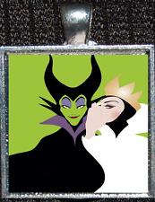 Disney Villain Maleficent Sleeping Beauty Evil Queen Wicked Pendant Necklace