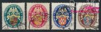Deutsches Reich 398-401 gestempelt 1926 Nothilfe (8984255