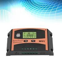 Controlador Regulador Carga Solar Panel Indicación LCD 30-60A MPPT 12/24V Set