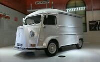 Citroen H Type Catering Trailer Van 1:24 Scale Very Detailed Model 24019 Grey