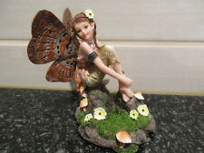 EXQUISTE FIGURINE THE TOADSTALL FAIRY BOXED