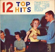 "RARE ""12 TOP HITS"" POP ROCK & ROLL 50'S LP CROWN 5038-JAN"