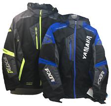 NEW YAMAHA FXR Mission FX MEN Jacket Snowmobile Black/Hivis Blue/Black Med/Large