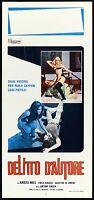 Vantage D'Author Film Cinema Movie Sylva Koscina Yellow 1974 Playbill Poster