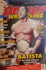 Power Wrestling 8/2006 WWE WWF TNA + 2 Poster (Hogan, Nitro & Melina)