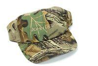 John Deere Advantage Timber Adjustable Camo Camouflage Hat Cap Snapback NEW