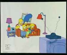 Simpsons Bart-O-Lounger Sericel - Limited Edition Serigraph Cel - 100th Episode