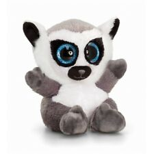 Animotsu Soft Toy Animal - 15cm Lemur - Plush Beanie Keel Toys Cuddly Sf0453