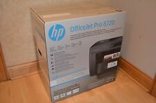 Brand New Black HP Officejet Pro 8720 Wireless All-in-One Inkjet Printer
