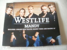 WESTLIFE - MANDY - 5 TRACK UK CD SINGLE