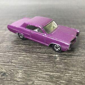 Vintage Matchbox Lesney Pontiac GP Coupé Superfast #22 Car Dark Purple Rare