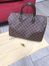 Louis Vuitton DE Damier Ebene Speedy 35 Sac a main