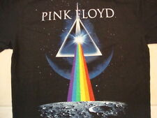 Pink Floyd Rock Band Music Dark Side Of The Moon Album Black T Shirt Size L