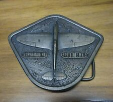 1976 Bergamont Brass Works Supermarine Spitfire-MK.5 Belt Buckle