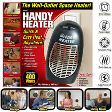 Space Heater Warmer Mini Portable Plug-in Electric Wall-outlet 400W 220 - 240V