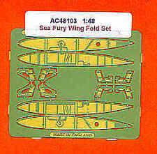 Airwaves 1/48 Hawker Sea Fury Wingfold set for Hobbycraft kit # AEC48103