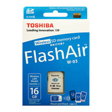 Toshiba FlashAir III 16GB SDHC Class 10 Wireless LAN Memory Card WiFi W-03