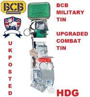 BRITISH ARMY & NATO BCB MILITARY SURVIVAL TIN KIT =ADVANCED COMBAT TIN SAS SF TA