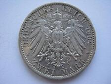 Germany 1904 Prussia, 2 Mark, VF.