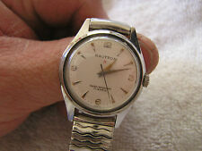 Vintage Britton Watch 17 Jewels Shock Resistant