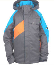 Ride Hemi Jacket Snowboard Ski Waterproof Insulated Boys L 14 Mens XS