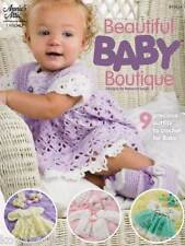 Beautiful Baby Boutique: crochet patterns for lacy baby dresses,sweaters 3-12 mo