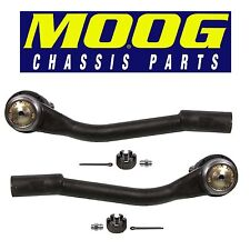 Pair Set of 2 Front Outer Steering Tie Rod Ends Moog for Kia Sedona