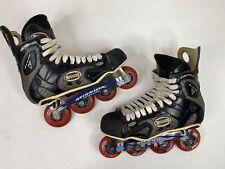 Mission Proto V Inline Hockey Roller Skates Size 11D (11 US Men Shoe) Labeda