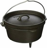 Hanging Campfire Cooking Pot Outdoor Smudge Bonfire Boiler Cast Iron Dutch Oven