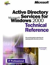 ACTIVE DIRECTORY SERVICES for MICROSOFT WINDOWS 2000 TECHNICAL REFERENCE NEW