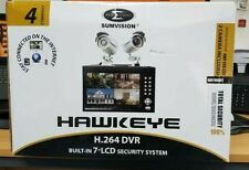 Sumvision HAWKEYE 4CH DVR Built in 7″ Monitor 2 CCD CAMERA, H.264, D1  CLEARANCE
