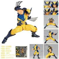New Kaiyodo Revoltech Amazing Yamaguchi Wolverine X-Men Action Figure Toy