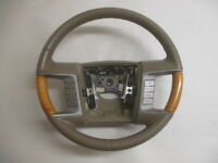 2007 Lincoln MKX Leather & Wood Steering Wheel w/Radio & Cruise Control OEM LKQ