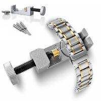 Metal Adjustable Watch Band Strap Bracelet Link Pin Remover Repair Tool Kit DG