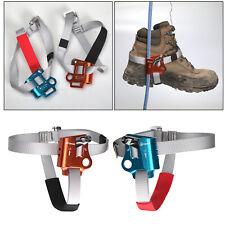 L / R Foot Climbing Ascender Tree Rigging Arborist Caving Gear Equipments