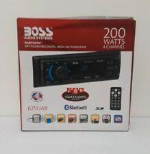 Boss 625UAB In-Dash Car Digital Media Bluetooth Receiver Multimedia Player NIB