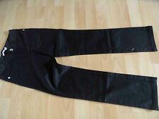 AIRFIELD schöne schmale skinny Jeans m. Strass schwarz Gr. 140 NEU (OA814)