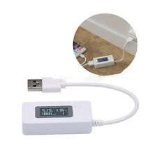 Dual LCD USB Charger Mobile Power Detector Monitor Voltage Current Meter Tester