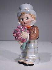 +# A005575 Goebel Archivmuster EF71 Parfumverdunster Junge m. Blumen u. Zylinder