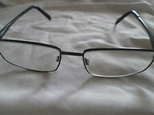 Wolf eyewear metallic blue  glasses frames. W653.