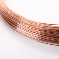 1m x 0.2-2mm Thick Copper Wire Wirework Tiara Craft DIY Beading Jewellery Making