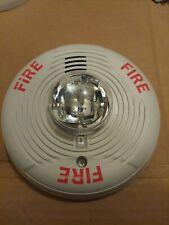 System Sensor Ceiling Horn Strobe High Candela White