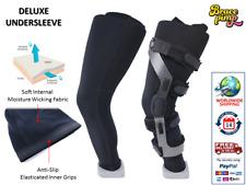 Deluxe Undersleeve - Knee Brace - Breg, CTI, DonJoy, Medi, Ossur, Townsend, EVS