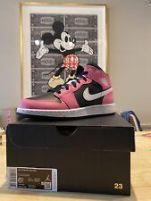 Nike Jordan 1 Mid Pink Pinksicle Size 6.5Y (8W) GS Brand New