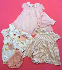 Baby Girl Clothes~ Lot of 3 Spring/Summer 2 Pc Dresses Sz 3-6 M. Ralph Lauren...
