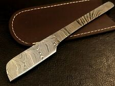 Handmade Damascus Steel Straight Razor-kamisori-Cut Throat-xd2