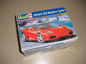 Revell Ferrari 360 Modena Spider (1:24 Scale Model Kit)