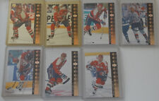 1994-95 Upper Deck UD SP Inserts Capitals Team Set 7 Hockey Cards