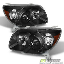 For Black 2006-2009 Toyota 4Runner Replacement Headlights lamps 06-09 Left+Right